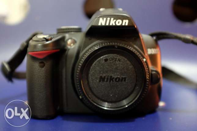 Nikon D3000 Digital Camera - Excellent Cosmetic Condition For Sale