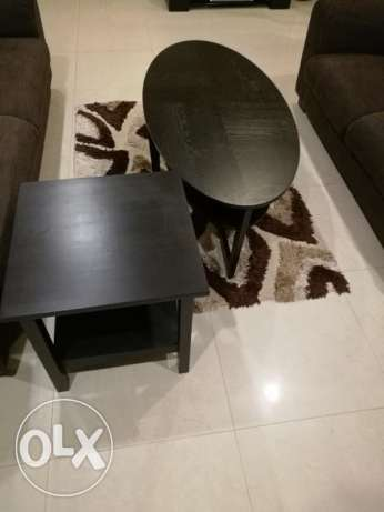 IKEA cofee table & side table only KD 40