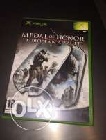 Medal of Honor European assault Xbox game
