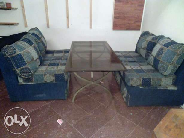 Well maintained good condition sofa for sale السالمية -  2