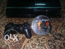 Sony ps3 with one game and one control for 35 kd
