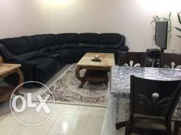 fully furnished big 3 bedrooms with BBQ area in quite area in fintas