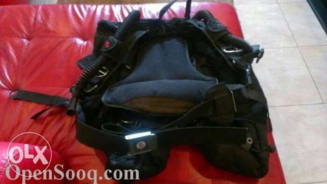 Scuba diving BCD wing