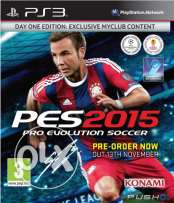 PES 2015 for ps3