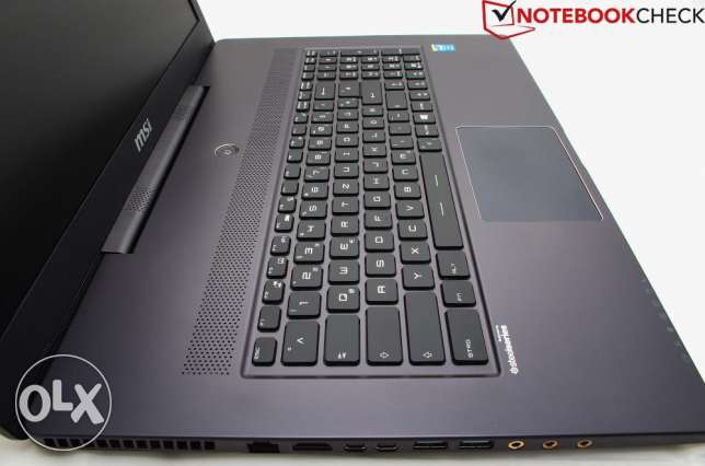 للبيع 249دك لابتوب MSI , CORE I7,16 GB RAM,NVIDIA GEFORCE GTX 2 GB