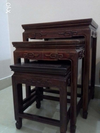 Chines Antique side tables( service table)