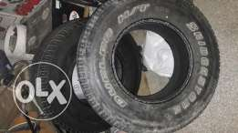 Two Tyre . One is bridgstone& Toyo