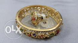 Beautifull bangal + ring set