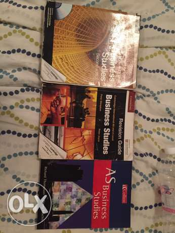 A-Level Business textbooks