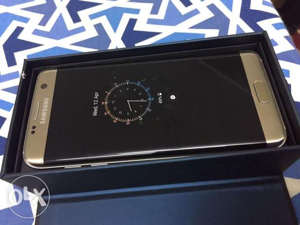 Samsung s7 edge gold colour 32gb