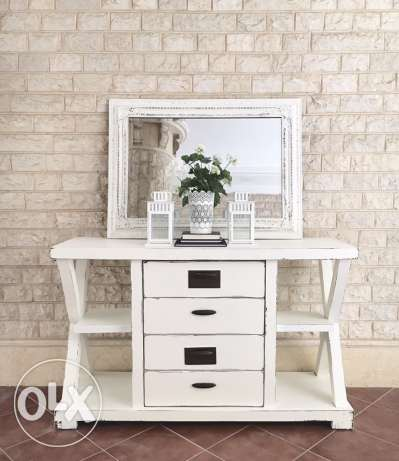 white shabby chic wood tv stand cabinet