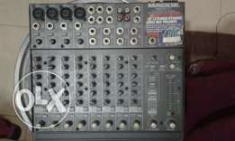 Mackie mixer for sale good condition.made in u.s.a