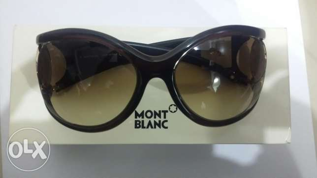 Mont Blanc sun glass orginal ,New with amazing price 65 kd