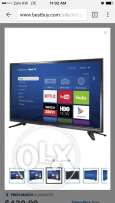 smart led Tv with Roku built in 60 kd