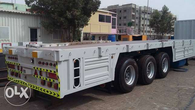 brand new trailers with air suspension kit 3 axle
