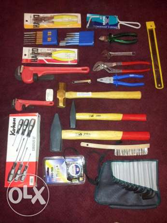 Hand Tools,German, American and Japanese makes all original, brandnew