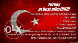Package to Turkey