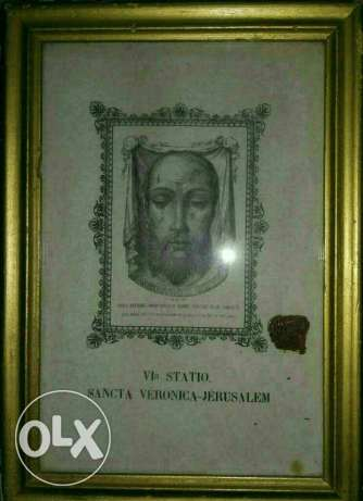 The Holy Face On The Veil of Veronica