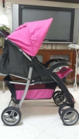 Juniors stroller and baby bassinet for sale