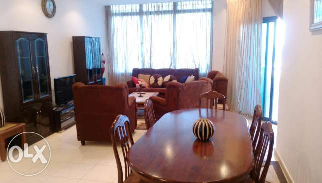 Only kd 700 for sea view 2 bedroom furnished apartnwnt with balcony