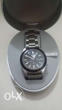 Seiko 5 original automatic stainless steel water resistant