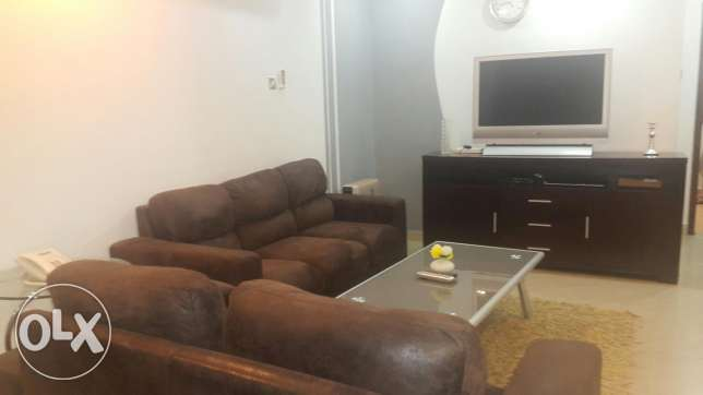 Lovely furnished flat one bdr in villa