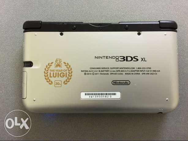 Nintendo 3DS XL limited edition الضجيج -  3
