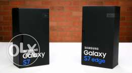Brand new sealed box samsung galaxy s7 edge 32gb with memory card