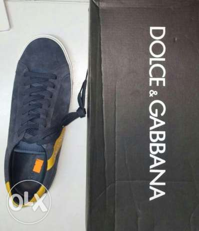Dolce & Gabbana 100% original shoes for men دولتشي آند غابانا الأ