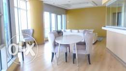 Modern semi furnished sea view apartment in Shaab KD 1200