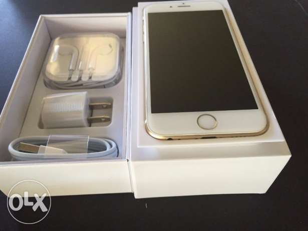 Brand new I phone 6 plus 64 GB gold