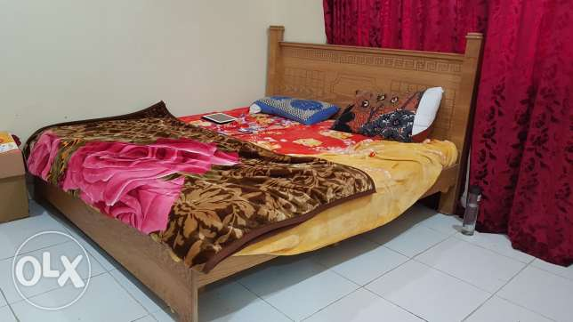 King size bed and coat for sale