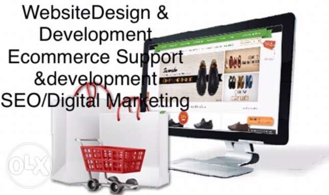 Web design/Ecommerce Support and development.