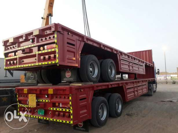 brand new heavy duty bogie trailers available in Kuwait with 64 ton