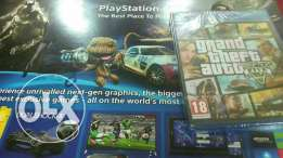 Play station 4 black with gta V