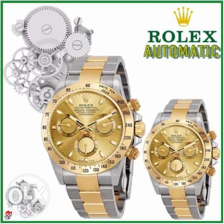 ROLEX pair 1 yr guaranteed AUTOMATIC
