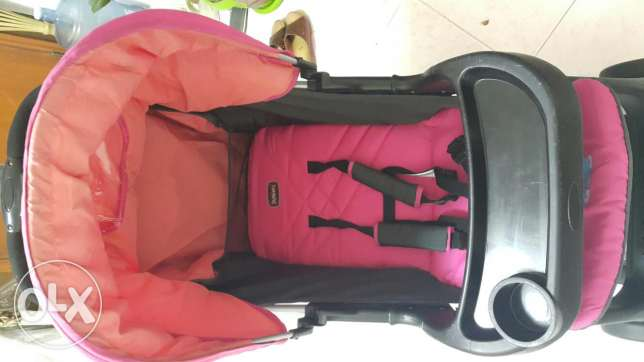 Juniors stroller and baby bassinet for sale ابرق خيطان -  3