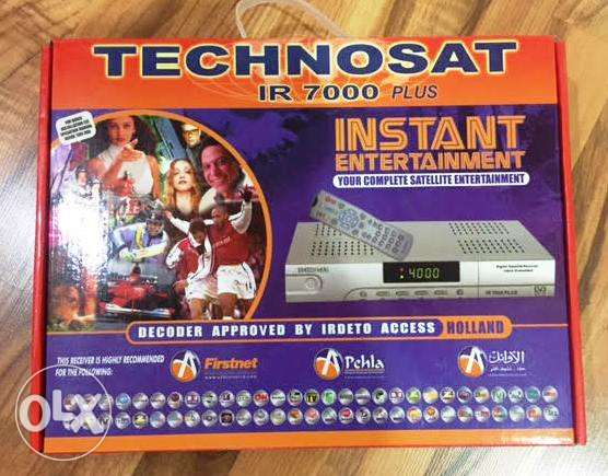 Technosat IR 7000 Plus receiver for only 2 KD