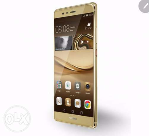 Huawei P9 , 32gb, gold color, unboxed