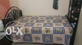 Cot with mattress Bed Sale 2 Month used