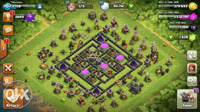 Clash of clan acount for sale الفروانية -  3