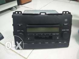 Prado orignal pioneer cassette cd player