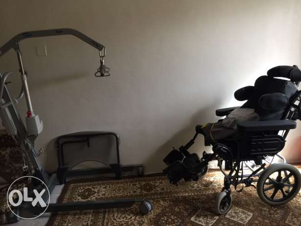 wheel chair & weighing lifter(170 kg)