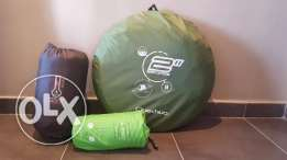 KIT camping Decathlon (tent + mattress + sleeping)