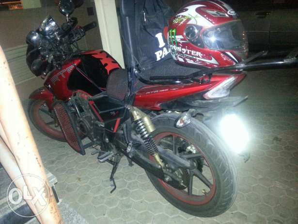 Tvs apache 2014 perfect condition حولي -  1