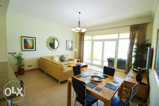 Sea view furnished 3 bedroom apartment, Shaab , KD 900