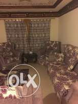 Sofa set w/ area carpet