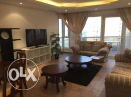 Sea view 2 bedroom duplex with balcony for KD 850, salmiya