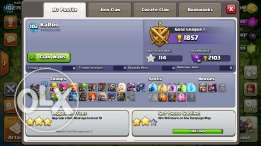 للبيع .. حساب كلاش اوف كلانس تاون ٩ Clash of clans account for sale