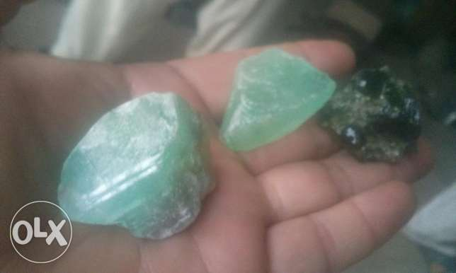 Real gems available in rough/ natural اليرموك -  7